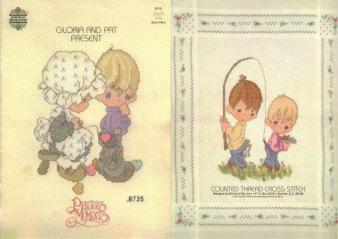Designs By Gloria & Pat-Precious Moments-Sew In Love
