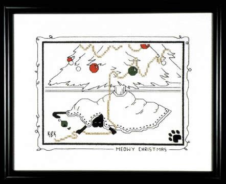 Calico Crossroads-Meowy Christmas