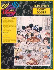 The Art Of Disney-Family Dinner