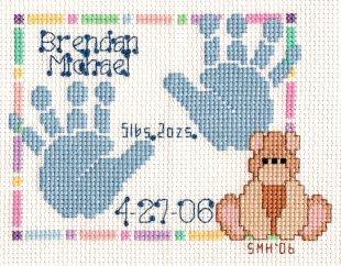Handprint-Brendan Completed June 2006
