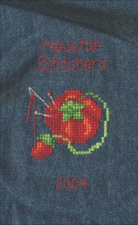 Houston Stitchers Denim Shirt-Completed February 2004