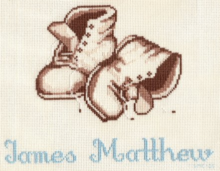 Yours Truely-Baby Shoes-Finished June 2005