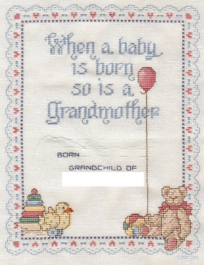 A Grandmothers Love-Completed April 2009